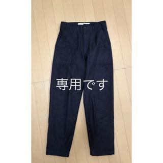 シンゾーン(Shinzone)の値下げシンゾーン   ベイカーパンツ  サイズ34 ネイビー(カジュアルパンツ)