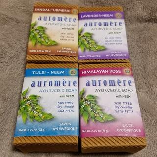 オーロメア(auromere)の【Auromere】オーロメア石鹸4個セット(ボディソープ/石鹸)