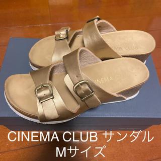 シネマクラブ(CINEMA CLUB)のCINEMA CLUB サンダル ゴールド(サンダル)