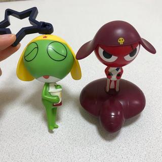 マクドナルド ケロロ軍曹 ギロロ伍長 フィギュア 人形 ハッピーセット おもちゃ(キャラクターグッズ)
