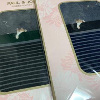 ポールアンドジョー(PAUL & JOE)のポール&ジョー PAUL&JOE 猫柄 ヌネット ストッキング タイツ(タイツ/ストッキング)