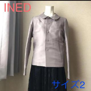 イネド(INED)のINED トップス ジャケット サイズ2 フォーマル(ノーカラージャケット)