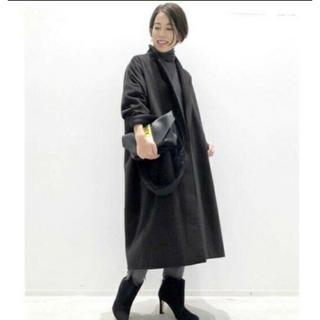 アパルトモンドゥーズィエムクラス(L'Appartement DEUXIEME CLASSE)のアパルトモン  lisier volume coat(ロングコート)
