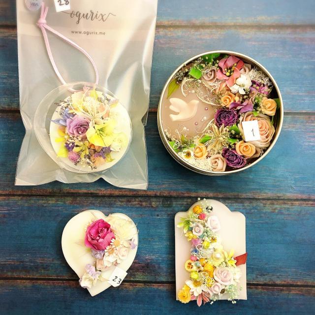 K様 アロマワックスバー・アロマワックス缶 ハンドメイドのインテリア/家具(アロマ/キャンドル)の商品写真