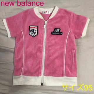 ニューバランス(New Balance)のnew balance 半袖 トップス ジャージカットソー サイズ95(Tシャツ/カットソー)