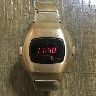 ハミルトン(Hamilton)のHamilton Pulsar P-3 GOLD LED 腕時計(腕時計(デジタル))
