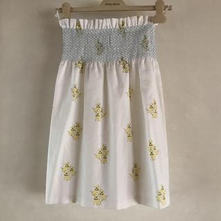 ミュウミュウ(miumiu)の最終値下げ☆miumiu 2010ss コレクション スカート(ひざ丈スカート)