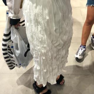 STYLENANDA - 韓国 シャーリング スカート