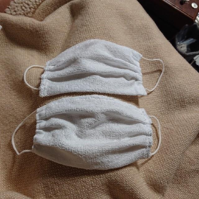 ハンドメイドマスク2枚 ワイヤー入りとパウチマウクの計3枚の通販 by ローズ shop