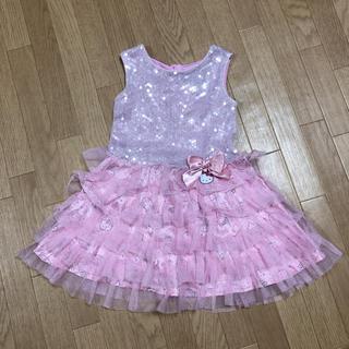 ハローキティ(ハローキティ)のキティちゃん 2T ワンピース ドレス(ワンピース)