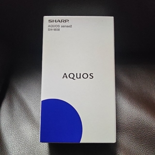 アクオス(AQUOS)のSHARP AQUOS sence2 SH-M08 アッシュイエロー (スマートフォン本体)