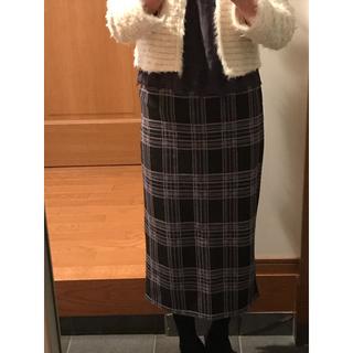 アナップ(ANAP)のANAP ジャガード織ロングスカート(ロングスカート)
