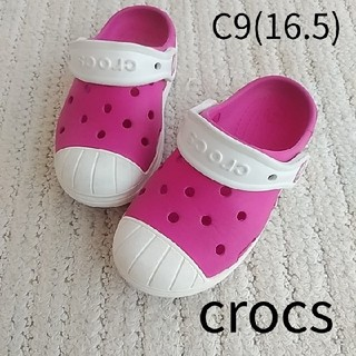 crocs - crocs クロックス キッズサンダル C9