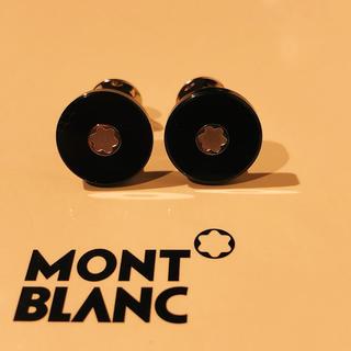 MONTBLANC - 定価40万!格安!18K!whitegold&onyx モンブラン