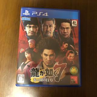 プレイステーション4(PlayStation4)の龍が如く7 光と闇の行方 PS4 特典コード未使用(家庭用ゲームソフト)