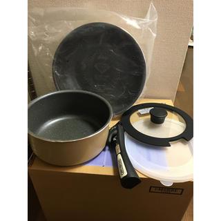 アイリスオーヤマ(アイリスオーヤマ)の処分 アイリスオーヤマ  ダイヤモンドコートパン  5点セット (鍋/フライパン)