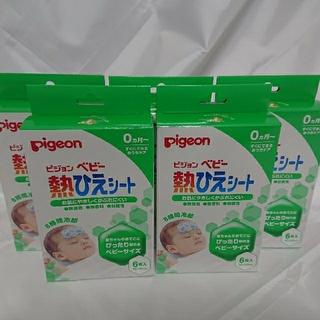 Pigeon - ピジョン ベビー熱ひえシート 6枚入×5個