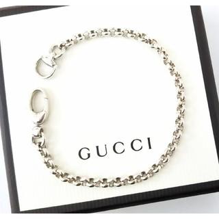 Gucci - グッチ シルバー925スターリングシルバー ホースビットブレスレット