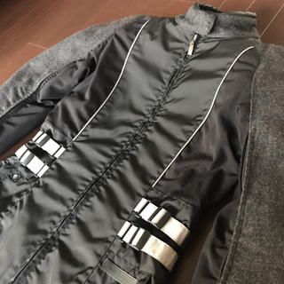 ビーエムダブリュー(BMW)のBMW Motorrad レディース ライダースジャケット 38 黒 グレー(装備/装具)