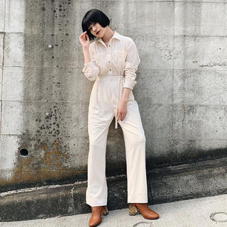 SLY - VELVET STRIPE JUMPSUIT【送料込み】