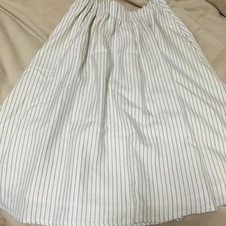 シマムラ(しまむら)のしまむら*ストライプスカート(ひざ丈スカート)