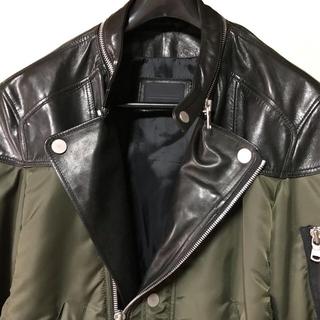 ブラックゴールド(BLACK GOLD)の→ ディーゼル ブラックゴールド ライダースジャケット(ライダースジャケット)