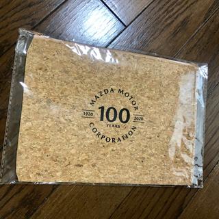 マツダ(マツダ)のMAZDA MOTOR 100周年記念 コルク ポーチ マツダ(ノベルティグッズ)