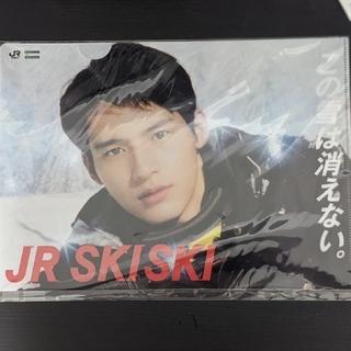 JR - JR SKISKI クリアファイル(岡田健史・浜辺美波) 1枚