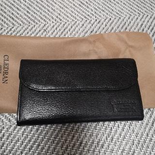 クレドラン(CLEDRAN)のクレドラン 長財布 黒(財布)
