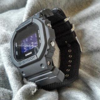 カシオ(CASIO)のG-SHOCK【DW-5600BBN-1DR】箱無し値下しました(腕時計(デジタル))