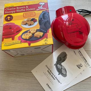 ピーナッツ(PEANUTS)のスヌーピー ワッフルメーカー(調理道具/製菓道具)