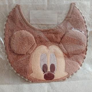 ミッキーマウス(ミッキーマウス)の【送料込・非売品】Disney ミッキーマウス スタイ(ベビースタイ/よだれかけ)
