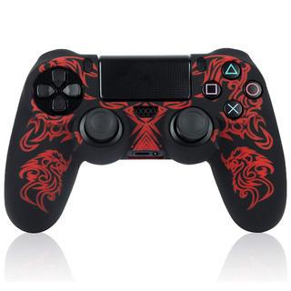 プレイステーション4(PlayStation4)のPS4🎧コントローラー用シリコンカバー🎮 未使用品✨ 即購入⭕️(その他)