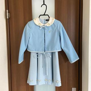 ポンポネット(pom ponette)のワンピース ジャケット セットアップ(ドレス/フォーマル)
