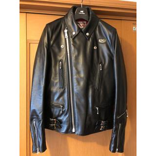 Lewis Leathers - Leathers 391Tライトニングタイトフィットブラックsize 36
