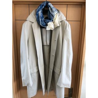 トゥモローランド(TOMORROWLAND)のブルックス ステンカラーをオフタイムで着こなす✖️ビジネス 二刀流コート美品(ステンカラーコート)