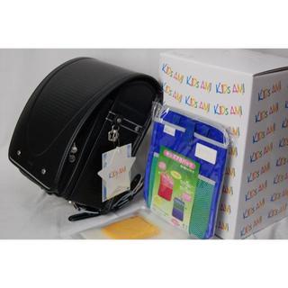 新品男の子☆黒 キッズアミ 国産ランドセル A4フラットファイル ナース鞄工