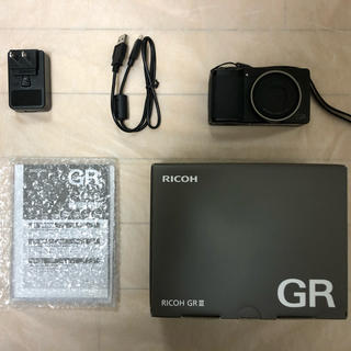 リコー(RICOH)のRICOH GRⅢ(コンパクトデジタルカメラ)