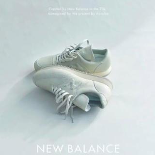 ニューバランス(New Balance)のauralee x ニューバランス グレー(スニーカー)