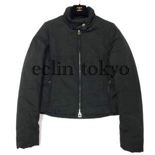 エルメス(Hermes)のエルメス ライトダウン 中綿入りジャケット S 黒 セリエ E1297(ダウンジャケット)