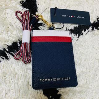 トミーヒルフィガー(TOMMY HILFIGER)の限定1つ‼️Tommy Hilfiger 🆔ケース・新品タグ付き(名刺入れ/定期入れ)
