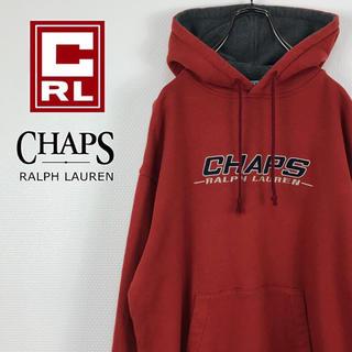 チャップス(CHAPS)のチャップスラルフローレン  ビッグロゴ USA国旗刺繍 スウェット パーカー(パーカー)