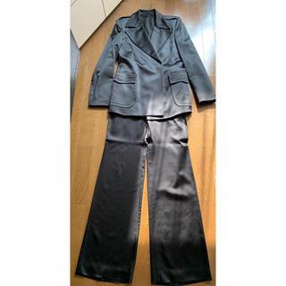 グッチ(Gucci)のグッチ GUCCI  パンツスーツ サイズ40  黒(スーツ)