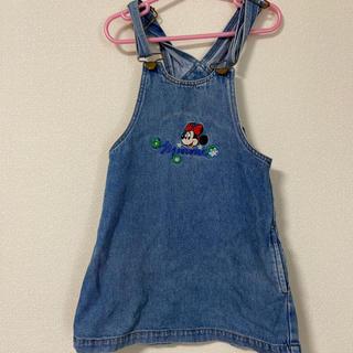 Disney - 95サイズ ベビー服 子供服 ワンピース デニム 女の子