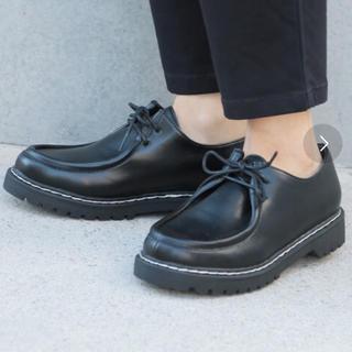 スタディオクリップ(STUDIO CLIP)のstudio clipステッチタンクソールシューズ(ローファー/革靴)
