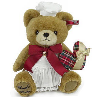 アンジェリックプリティー(Angelic Pretty)の【限定値引】Chocolatier Bearぬいぐるみポーチ(ぬいぐるみ)