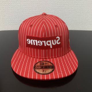 コムデギャルソン(COMME des GARCONS)のsupreme CAP(キャップ)