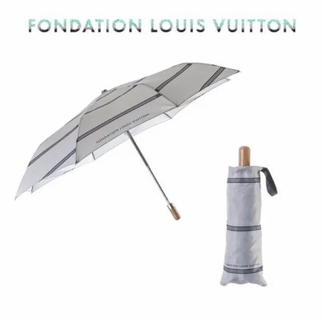 LOUIS VUITTON - 【新品 紙袋付】LOUIS VUITTON折りたたみ傘フォンダシオンルイヴィトンの通販