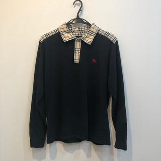 BURBERRY - 【送料込】長袖 バーバリー ポロシャツ 売り切れ