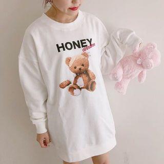 ハニーシナモン(Honey Cinnamon)のパーカーワンピース(ひざ丈ワンピース)